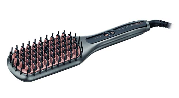 Keratin Protect Düzleştirme Fırçası ile saçlarda Wow etkisi