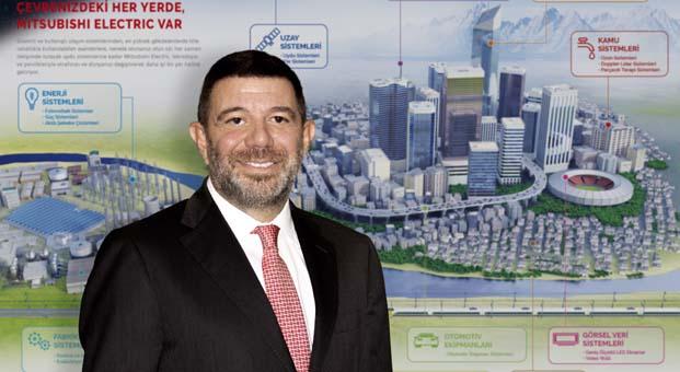 Mitsubishi Electric Turkey Elektrik Ürünleri A.Ş. Kurumsal Finans Bölümü'nün yeni Genel Müdürü Kerem Ongan oldu