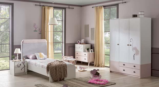 KidsandTeens'ten Flamingo Çocuk Odası