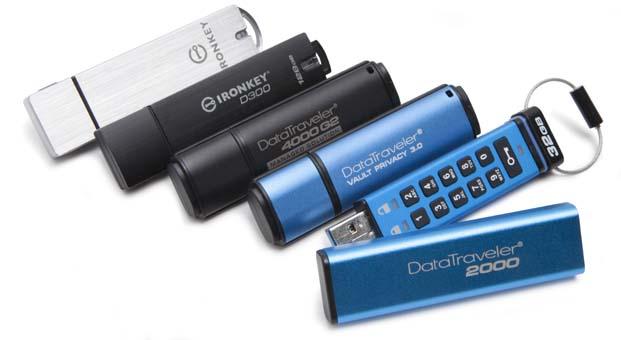 Kingston şifreli USB Sürücüler yaklaşan GDPR uyumu için temel bileşen olacak