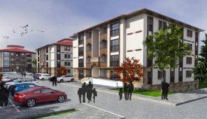 TOKİ'den Kırşehir Akpınar'a yöresel mimaride 141 konut