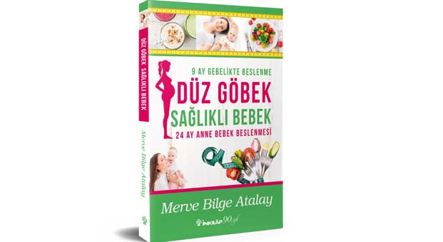 Merve Bilge Atalay'ın yeni kitabı Düz Göbek Sağlıklı Bebek kitabevlerinde
