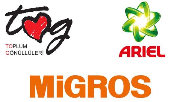 """Ariel, Migros ve TOG'un çocuklara özel """"Kıyafet Bağış Kampanyası"""" başladı"""