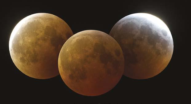 Yılın gök olayı 'Tam Ay Tutulması' Türkiye'den izlenecek