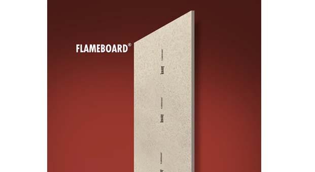 Knauf'tan yüksek yangın dayanımına sahip Flameboard duvar ve tavan sistemleri
