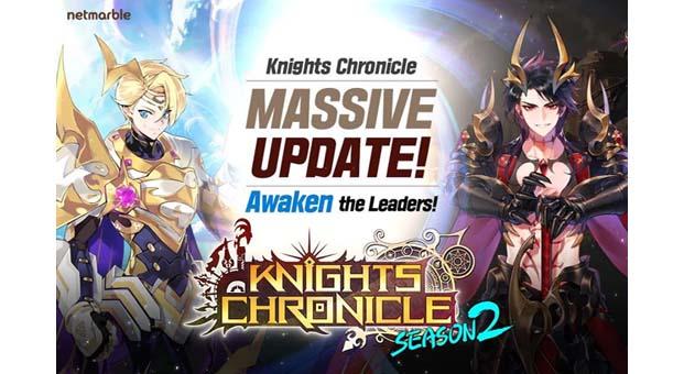 Knights Chronicle'a 2 yeni kahraman Tyrione ve Pierina geldi