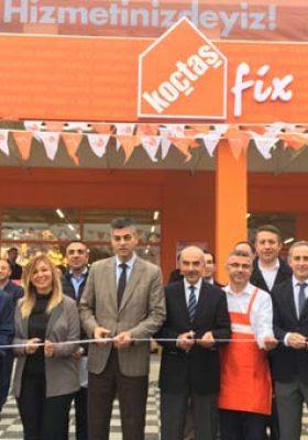 18. Koçtaş Fix mağazası Şile'de açıldı