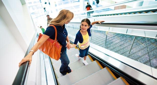Yürüyen merdivenlerde KONE ile güven