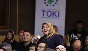 Konya Sarayönü'nde 853 konutun hak sahipleri kurayla belirlendi