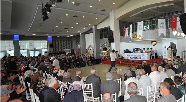 Konya Meram'da 802 konutun hak sahipleri belirlendi