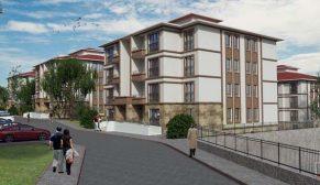 Konya Sarayönü'nde geleneksel mimaride bir mahalle inşa ediliyor
