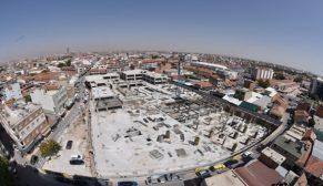Anadolu'nun en büyük yer altı otoparkı Konya'da inşa ediliyor