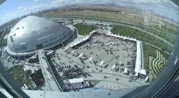 150 bine yakın ziyaretçi Konya Bilim Festivali'ne akın etti