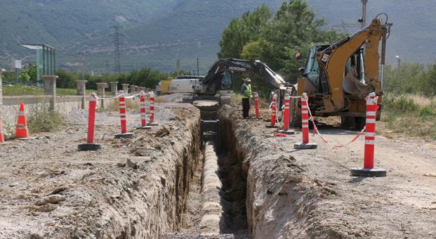 Büyükşehir'den 950 Km Su, 453 Km kanalizasyon şebekesi