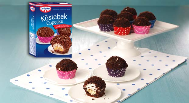 Dr. Oetker'den Köstebek Cupcake