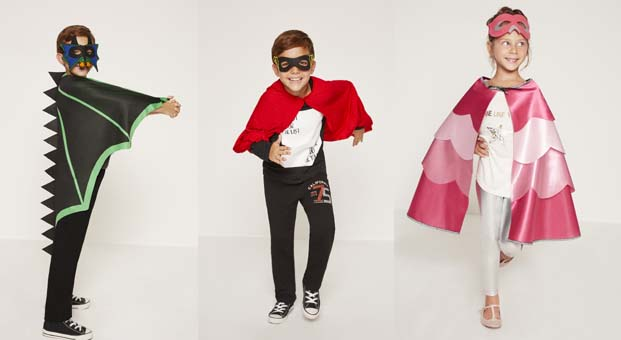 Kahraman hayranı çocuklara özel Koton Kids Kostüm Koleksiyonu