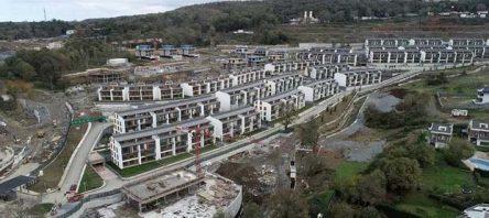 İnşaatı devam eden KÖY Projesi'nin yüzde 50'si tamamlandı