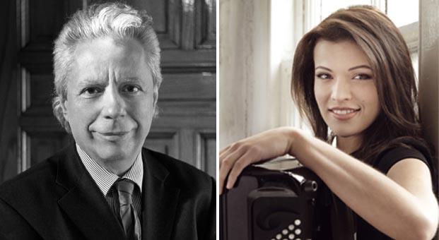 Akordeonun yıldız ismi Ksenija SidorovaCSO ile İş Sanat'ta bir araya geliyor