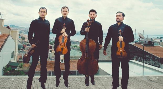 Astor Piazzola'nın eserleri Borusan Quartet'in eşsiz yorumuyla UNIQ Hall'de
