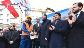 Prof. Dr. Raşit Küçük Kültür ve Spor Merkezi'nin temeli atıldı