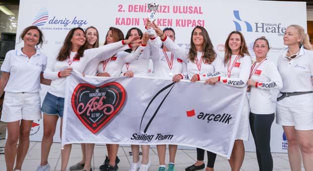 2. Deniz Kızı Ulusal Kadın Yelken Kupası'nda şampiyonlara Miami tatili
