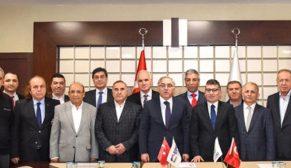 Rami Kuru Gıdacıların yeni yerinin inşa sözleşmesi imzalandı