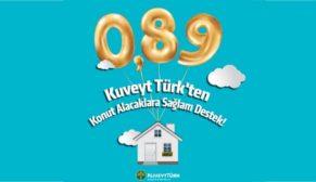 Kuveyt Türk kâr oranını konutta yüzde 0,89'a düşürdü