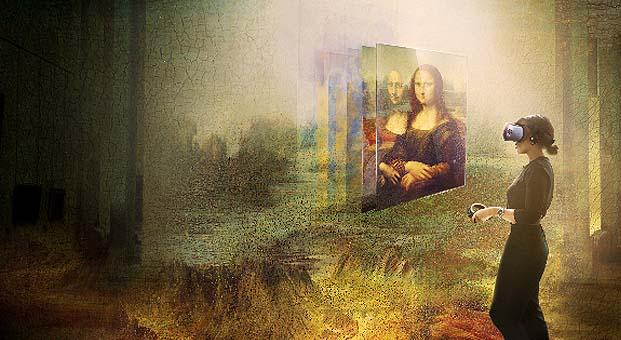 Louvre Müzesi HTC VIVE Arts iş birliğiyle ilk sanal gerçeklik deneyimini sunuyor