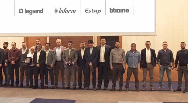 Legrand Grup Türkiye, 2017'nin en çok satış yapan bayilerini ödüllendirdi