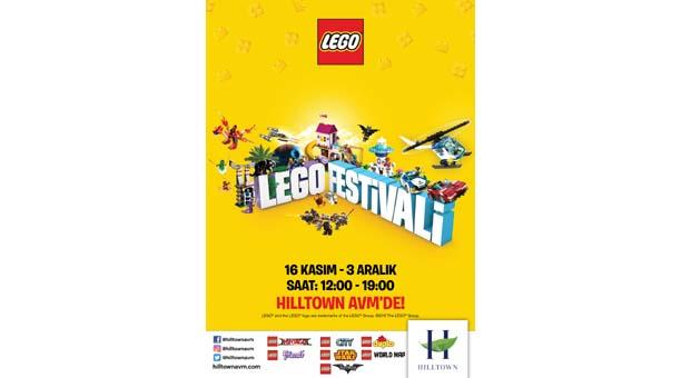 Hilltown AVM'de Lego festivali başlıyor