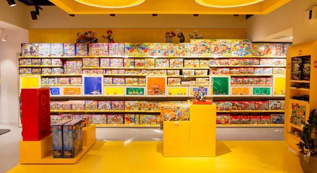 Türkiye'de ilk Lego Store İstanbul Kanyon AVM'de açılıyor