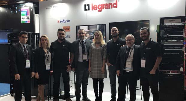 Legrand Grubu, yeni nesil ürünlerini Data Center Dynamics'te görücüye çıkardı