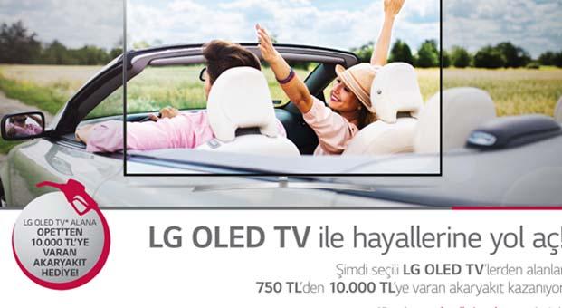LG OLED TV ile hayallerine yol aç