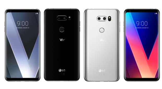 LG V30+ Türkiye'de satışa sunuldu