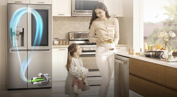 LG, 15 milyon buzdolabı sattı
