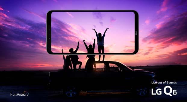 LG Q6, Türkiye'de satışa çıktı