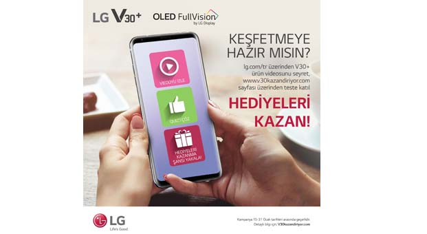 LG V30+ hediyeleriyle geliyor