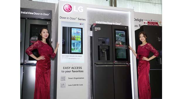 LG inceltilmiş buzdolaplarıyla tazeliğe ağırlık veriyor