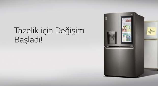 LG buzdolaplarında 2 bin TL indirim