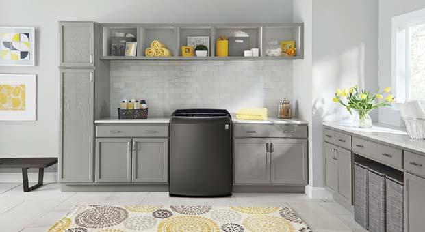 LG'den enerji tasarruflu ve yüksek performanslı çamaşır makineleri