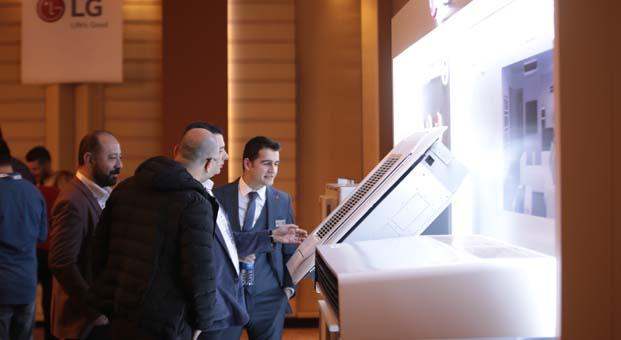 LG Türkiye, yeni nesil ısıtma ve soğutma sistemlerini iş ortaklarına tanıttı