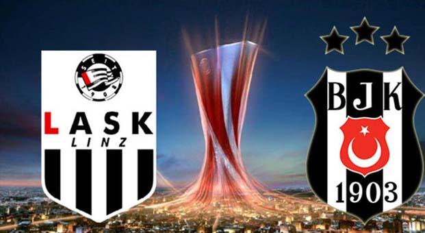 Lask Linz Beşiktaş maçı hangi kanalda canlı izle?