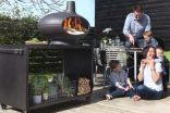 Bahçeler için üçü birarada: Soba, fırın ve barbekü