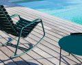 L'unica'dan havuz keyfi içinşezlong, daybed, uzanma koltuğu, salıncak, sehpa ve şemsiye