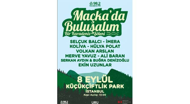 İstanbul'da bir Karadeniz şöleni