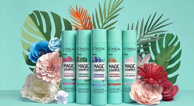 Magic Shampoo ile duştan çıkmış gibi anında ferah ve hacimli saçlar
