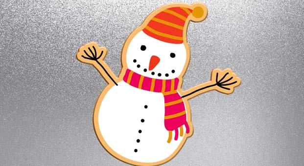 Trumpland'de bu hafta sonu çocuklar kardan adam magnetler yapacak 2-3 Aralık