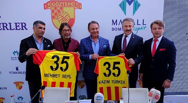 Türkerler Holding Göztepe'ye dördüncü defa sponsor oldu