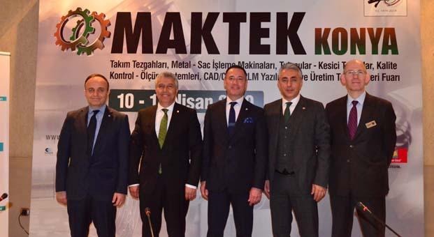 MAKTEK Fuarı, İstanbul ve İzmir'den sonra şimdi Konya'da