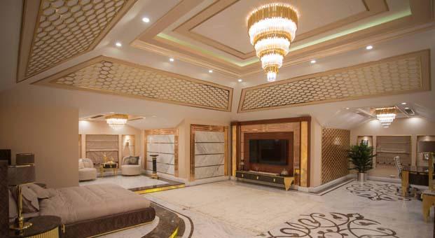 Dubai Emiri Darıca'daki malikanesinin dekorasyonunda 24 ayar altın kullandırdı